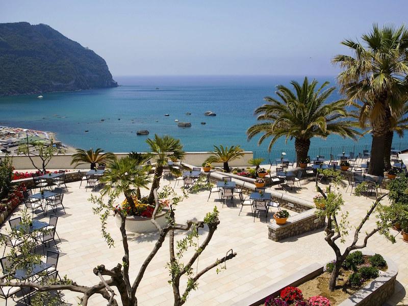 Hotel Terme Royal Palm veduta Citara