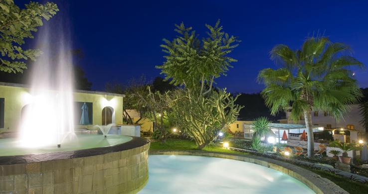 Hotel Hibiscus Forio piscine