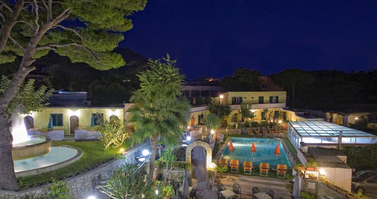 Hotel Hibiscus Forio panorama