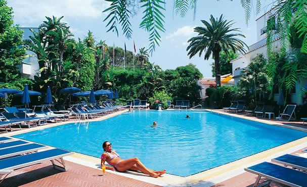 Hotel Floridiana Terme piscina esterna