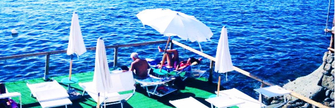 Hotel La Scogliera piattaforma mare