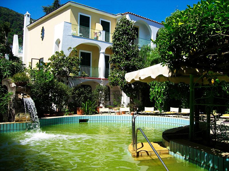 Hotel Villa Ciccio piscina termale