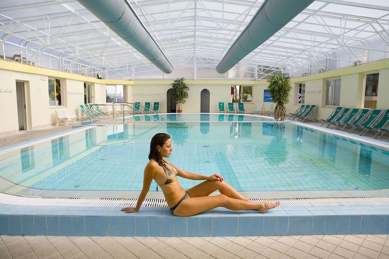 Hotel Parco San Marco piscina termale