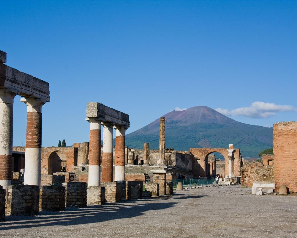 Escursione a Pompei e Vesuvio