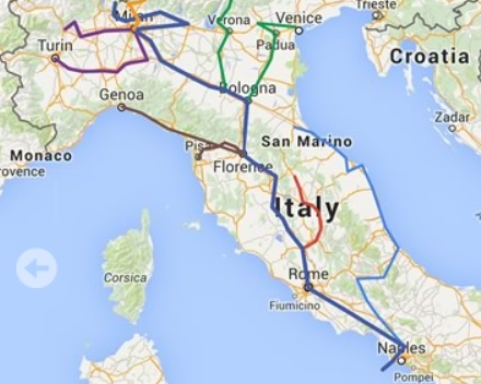 Linea Nord-Est | Trentino e Veneto