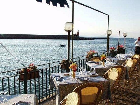 Terrazza ristorante baia del clipper Ischia